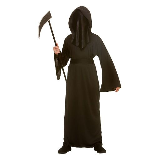 Boys Faceless Reaper Costume for Grim Death Halloween Fancy Dress